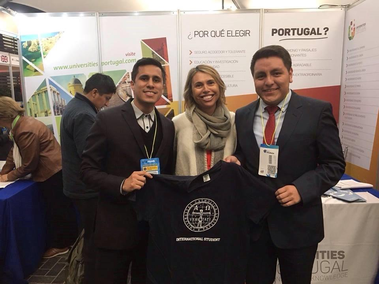 Feira estudante internacional UCP